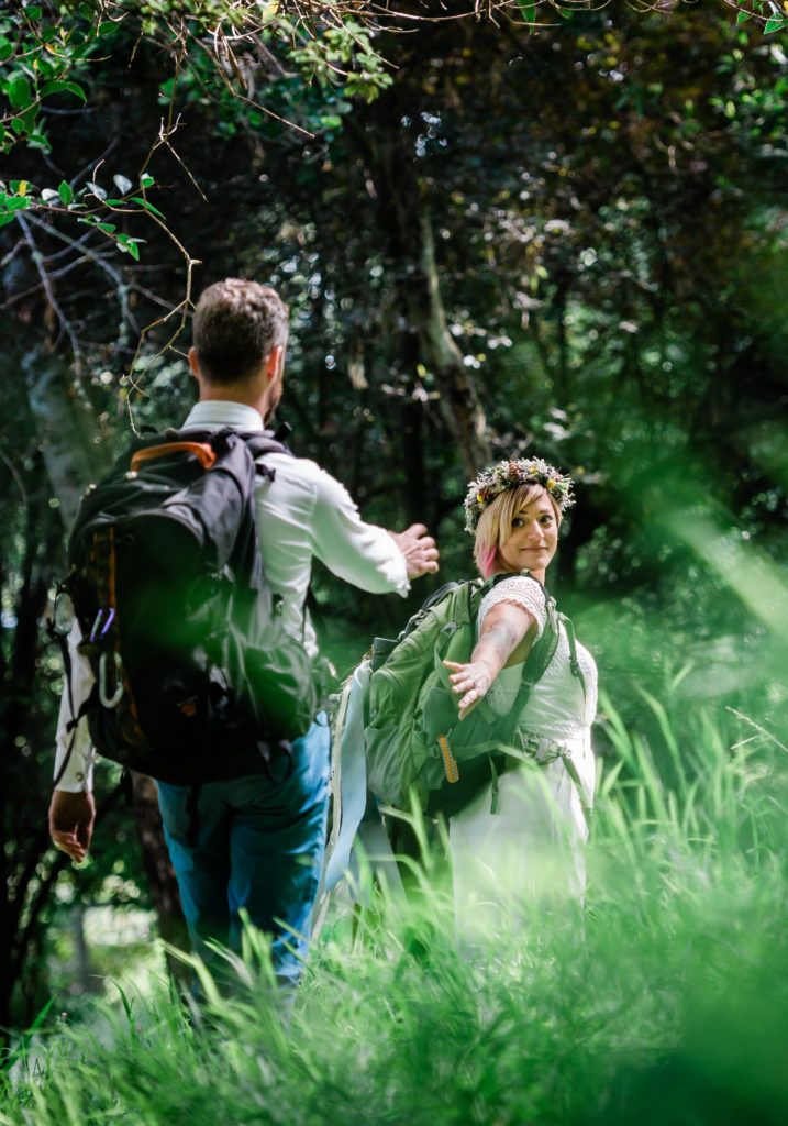 adventure wedding photography adventure elopement photographer