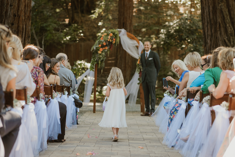 redwood wedding at Deer Park Villa in Fairfax, CA